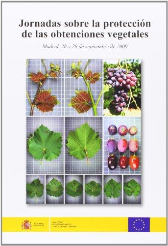 9788449109966: Jornadas sobre la proteccion de las obtenciones vegetales