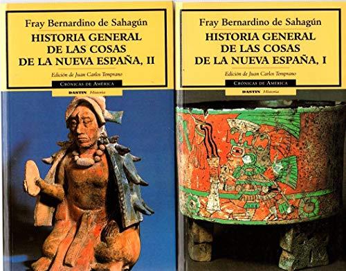 9788449202230: Historia general de las cosas de la nueva España, I (cronicas de América, 23): 1 (Cronicas de America)