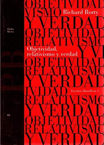 9788449302749: Objetividad,relativismo y verdad