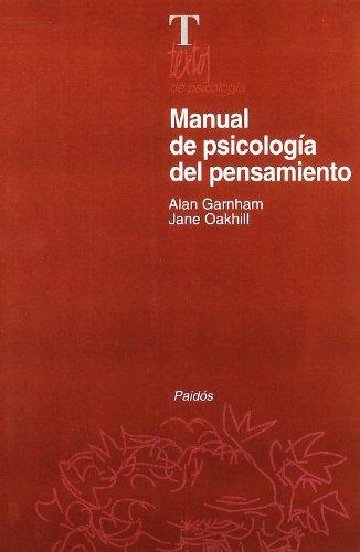 9788449302831: Manual de psicología del pensamiento (Psicología Psiquiatría Psicoterapia)