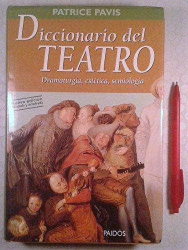 9788449306372: Diccionario del teatro / Theatre Dictionary (Spanish Edition)