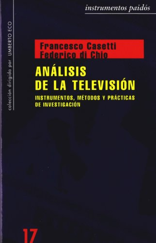 9788449306655: Analisis de la television / Analysis of Television (Spanish Edition)