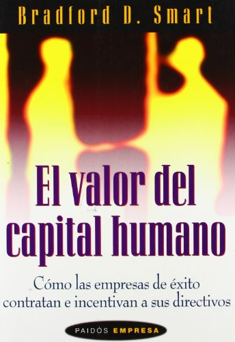 9788449310317: El Valor del Capital Humano (Spanish Edition)