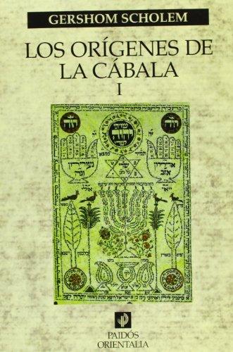 9788449310799: Los orígenes de la Cábala, vol. 1 (Orientalia)