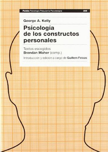 9788449311246: Psicologia de los constructos personales (Psicologia, Psiquiatria, Psicoterapia/Psychology, Psychiatry, Psychotherapy)