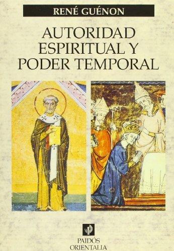 9788449311574: Autoridad espiritual y poder temporal (Orientalia)