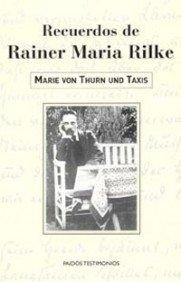 9788449315473: Recuerdo de Rainer Maria Rilke (Spanish Edition)