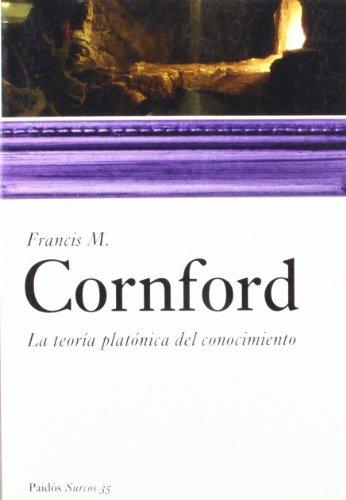 La teoria platonica del conocimiento (Surcos) (Spanish Edition) (9788449319907) by Cornford, Francis M.