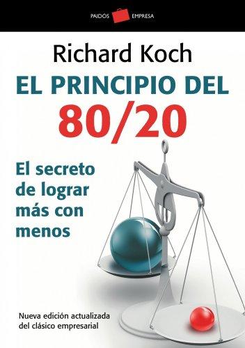 9788449322730: El principio 80/20. El secreto de lograr más con menos