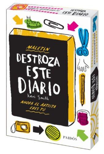 9788449330209: Maletín Destroza Este Diario (Libros Singulares)