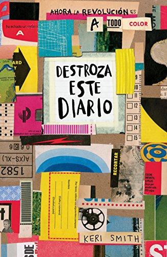 9788449333736: Destroza este diario. Ahora a todo color (Libros Singulares)