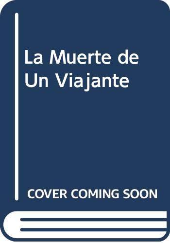 9788449408274: La Muerte de Un Viajante (Spanish Edition)