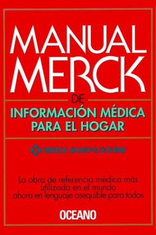 9788449411847: Manual Merck de Informacion Medica Para El Hogar (Spanish Version) (Spanish Edition)