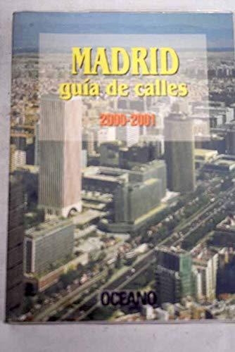 9788449416408: Madrid Guía De Calles. 2000-2001