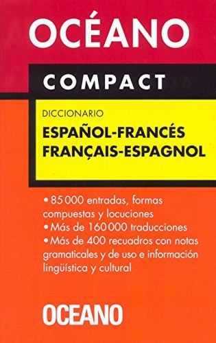 Oceano Compact Diccionario/ Oceano's Compact dictionary: Espanol-frances: Varios