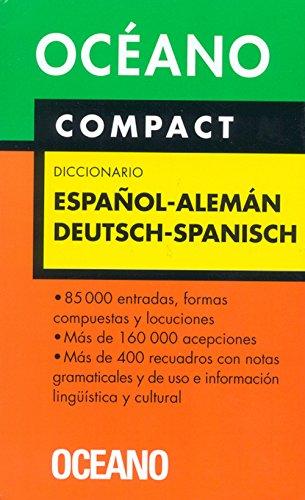 9788449421037: Océano Compact Diccionario Español - Alemán / Deutsch - Spanisch (Diccionarios)