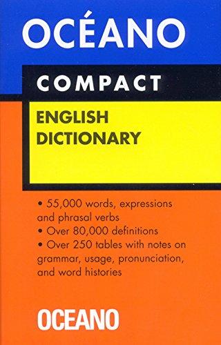 9788449422980: Diccionario Oceano Compact English Dictionary/ Oceano Compact English Dictionary (Diccionarios) (Spanish Edition)