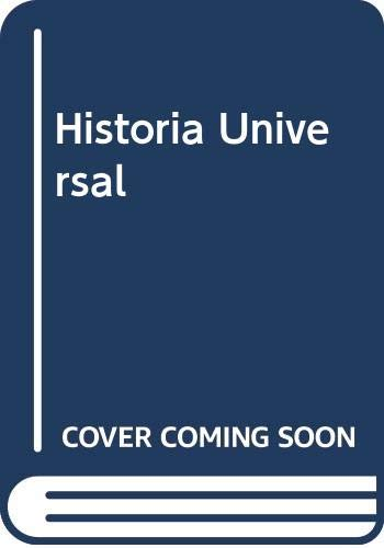 9788449427855: Historia Universal