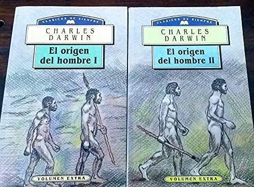 9788449500749: El origen del hombre. 2 vols