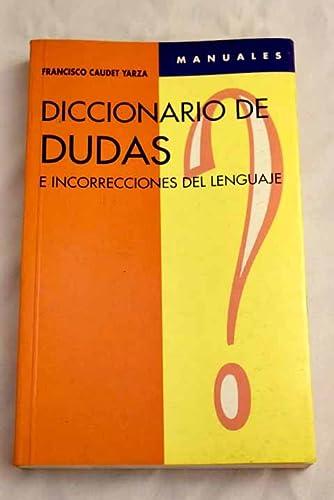9788449501340: Diccionario de Dudas - Mateos - (Spanish Edition)