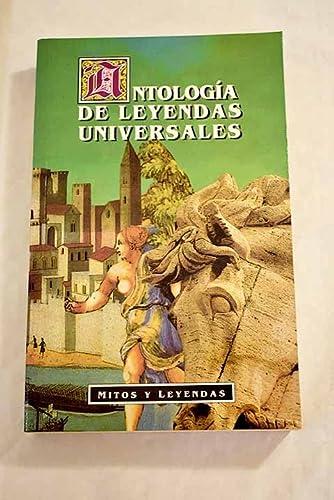 9788449501760: Antología de leyendas universales