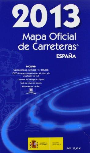 Mapa Oficial de Carreteras España 2013