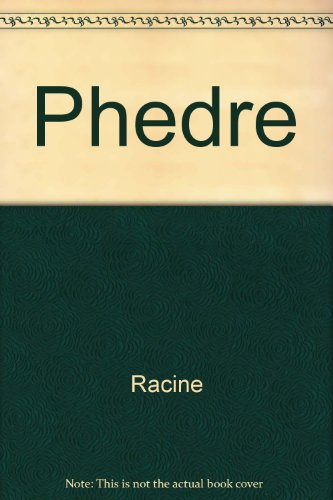 9788449963452: Phedre