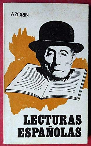 Lecturas españolas: Martinez Ruiz, J.
