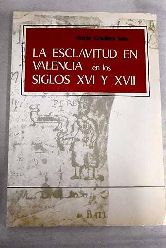9788450025873: Esclavitud en Valencia
