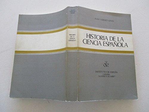 9788450072204: Historia de la ciencia española (Spanish Edition)