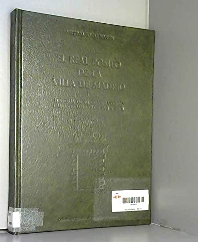 9788450081602: El real pósito de la villa de Madrid: Historia de su construcción durante los siglos XVII y XVIII (Spanish Edition)