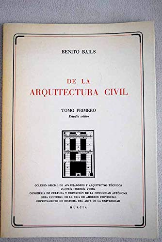 DE LA ARQUITECTURA CIVIL - 2 TOMOS