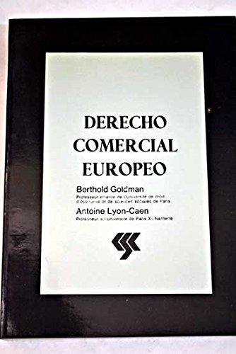 9788450507676: Derecho comercial europeo (Spanish Edition)