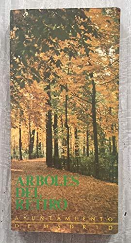9788450510300: Arboles del retiro (Coleccion Cuadernos / Area de Urbanismo e Infraestructuras) (Spanish Edition)