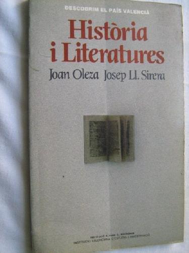 Historia i literatures (Descobrim el Pais Valencia) (Catalan Edition): Oleza, Juan
