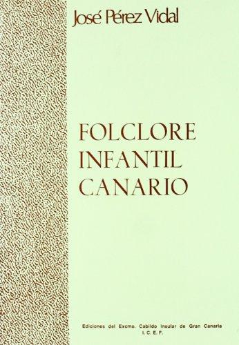 9788450528008: Folclore Infantil Canario