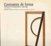 Contrastes de forma: Abstraccio�n geome�trica, 1910-1980, de las colecciones del ...