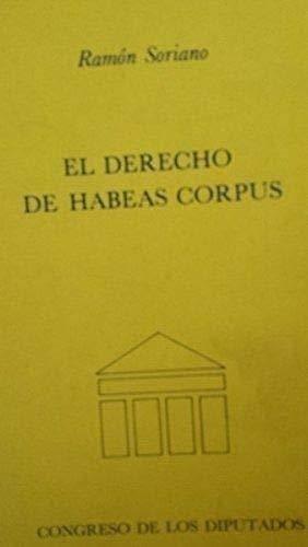 9788450537208: El derecho de habeas corpus