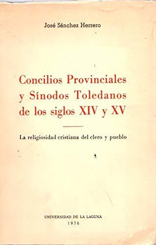 9788460005032: Concilios provinciales y sinodos toledanos (Estudios de historia)
