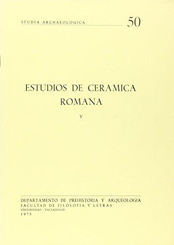 9788460011088: Estudios de cerámica romana (Studia archaeologica) (Spanish Edition)