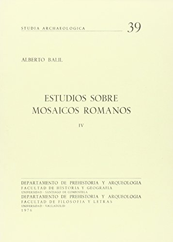 9788460011095: Estudios Sobre Mosaicos Romanos V (9)