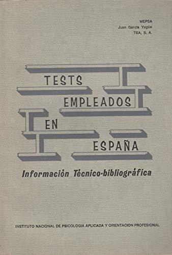 Tests empleados en España: Juan García Yagüe