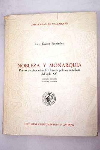 9788460017776: Nobleza Y Monarquía