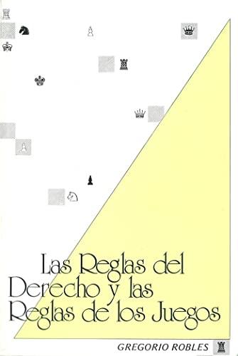 9788460035947: Las reglas del derecho y las reglas de los juegos: Ensayo de teoría analítica del derecho (Spanish Edition)