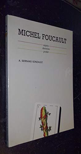 9788460044994: Michel Foucault: Sujeto, derecho, poder (Ciencias sociales) (Spanish Edition)