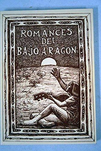 9788460047131: ROMANCES TRADICIONALES DEL BAJO ARAGON
