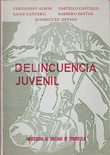 9788460058199: DELINCUENCIA JUVENIL.