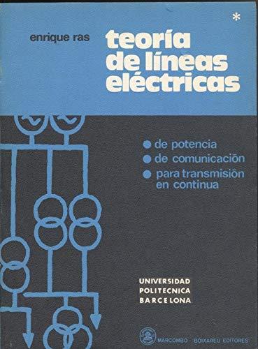9788460058922: Teoria de Lineas Electricas I - 2b: Edicion (Spanish Edition)