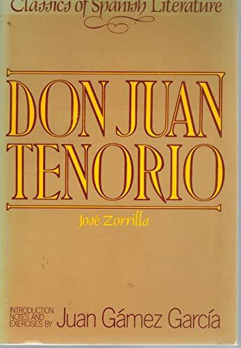 Don juan tenorio.: ZORRILLA, J.
