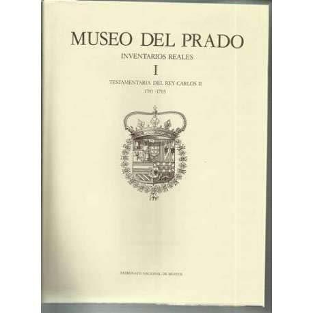 MUSEO DEL PRADO, INVENTARIOS REALES 2 tomos.: FERNÁNDEZ BAYTON, Gloria